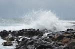coastal breakers at Poipu, Hawaii